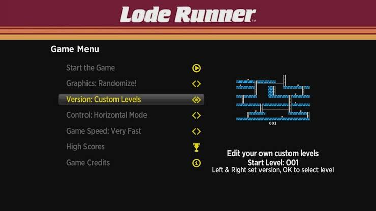 Lode Runner Remake