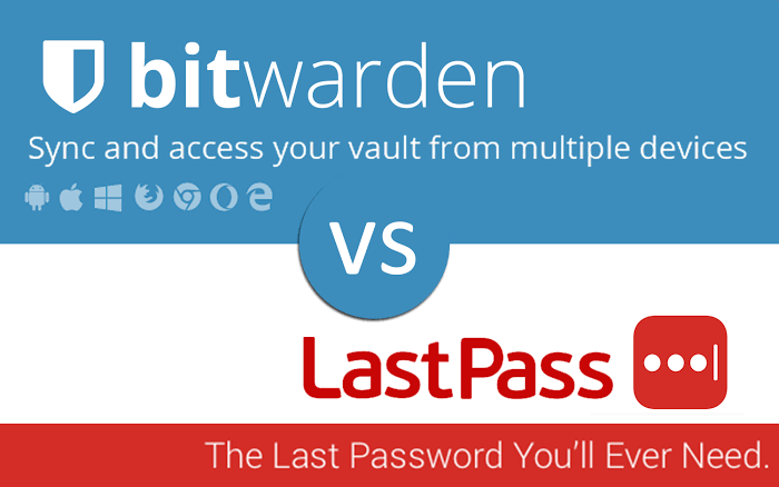 Bitwarden Vs Lastpass