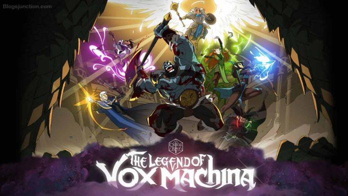 The Legend Of Vox Machina updates
